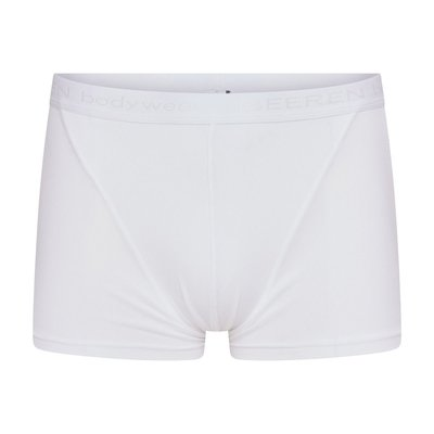 Heren boxershort Beeren Young Wit 98% polyamide 2 % elast