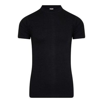 Heren T-shirt Comfort Feeling Zwart (95% katoen 5% elast)