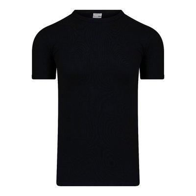 Heren T-shirt met ronde hals M3000 Zwart