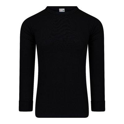 Heren T-shirt met lange mouw M3000 Zwart