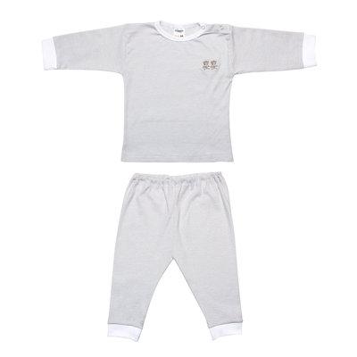 Baby Pyjama grijs streep
