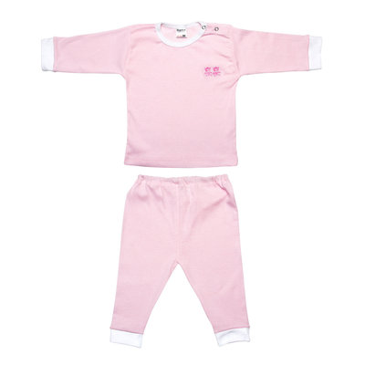 Baby Pyjama roze streep