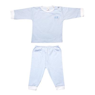 Baby Pyjama blauw streep