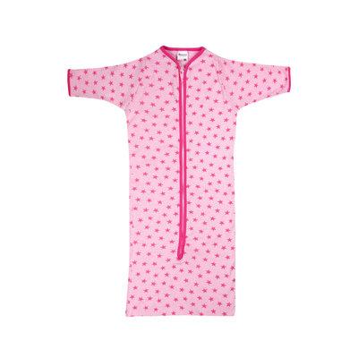 Baby slaapzakje roze streep ster