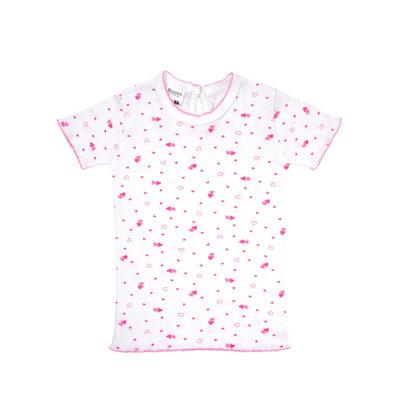 Baby T-shirt korte mouw Beeren Foam