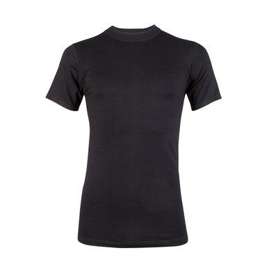 Heren T-shirt korte mouw Comfort Feeling Zwart