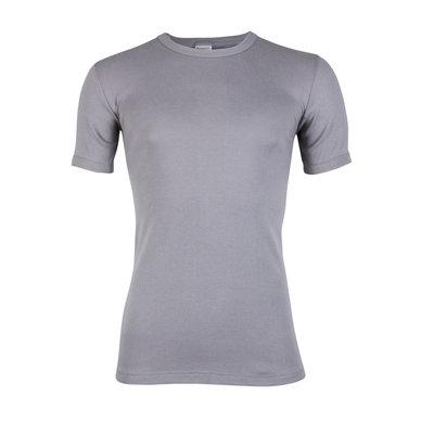 Heren T-shirt met ronde hals en korte mouw Beeren Grijs