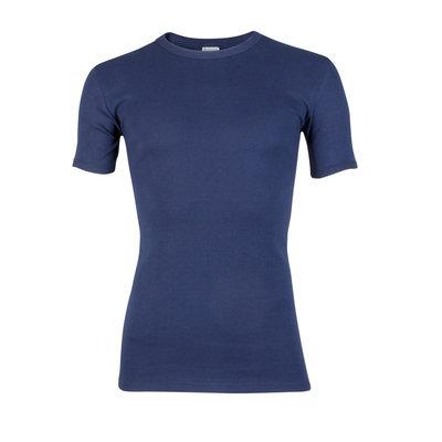 Heren T-shirt met ronde hals en korte mouw Beeren Marine