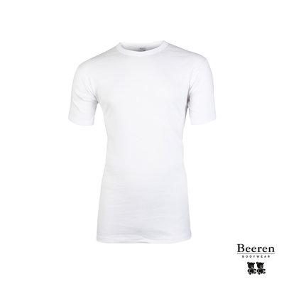 Heren hemd korte mouw M3400 Wit
