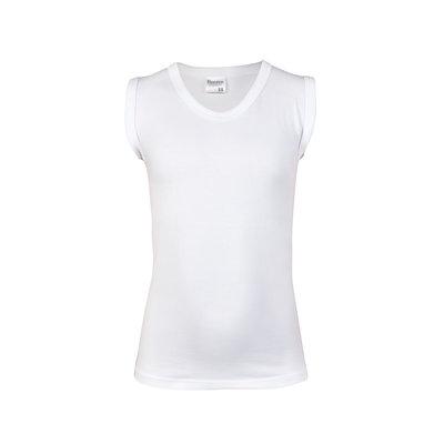 Jongens mouwloos hemd Comfort Feeling Wit