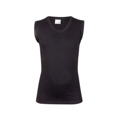 Jongens mouwloos hemd Comfort Feeling Zwart