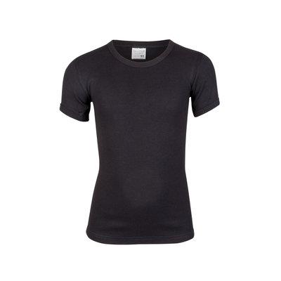Jongens T-shirt korte mouw Beeren Zwart