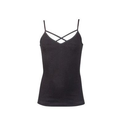 Meisjes hemd Annabel Zwart