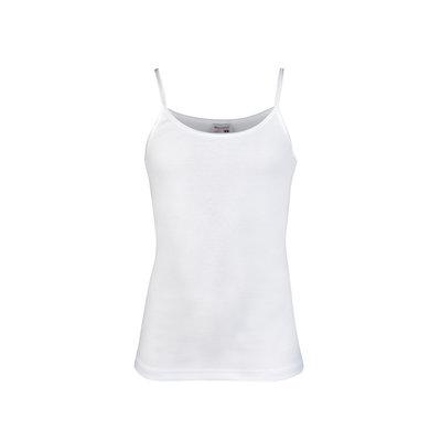 Meisjes beeren ondergoed hemd Britney wit
