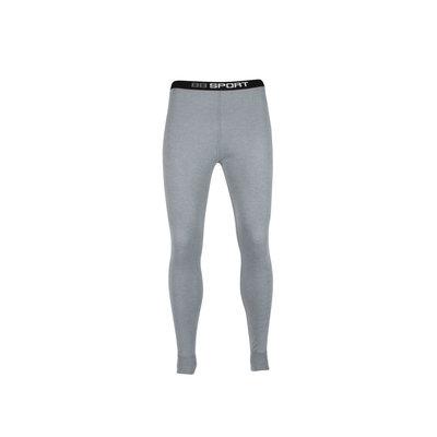 Unisex beeren ondergoed pantalon Thermo grijs