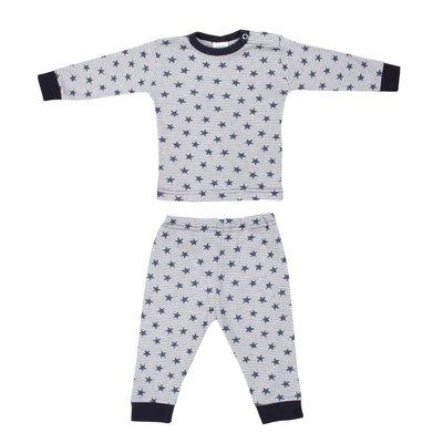 Baby Pyjama streep ster Blauw