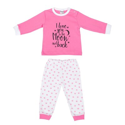 Beeren Baby pyjama Love You Roze