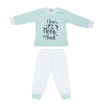 Beeren Baby pyjama Love You Mint