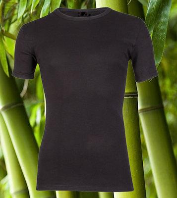 Bamboe heren T-shirt K.M. Zwart