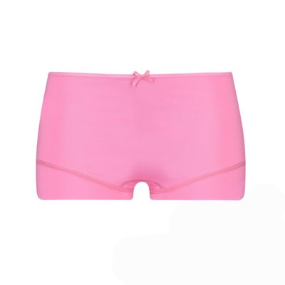 RJ Dames Short Pure Color Felroze