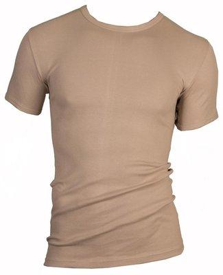 Heren beeren T-shirt korte mouw huidskleur
