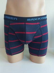 Heren boxershort Maxx Owen streep Rood
