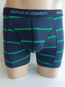 Heren boxershort Maxx Owen streep Groen