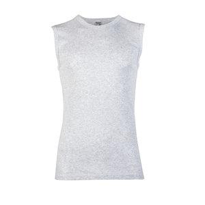 Heren mouwloos shirt met ronde hals Beeren Melee Grijs