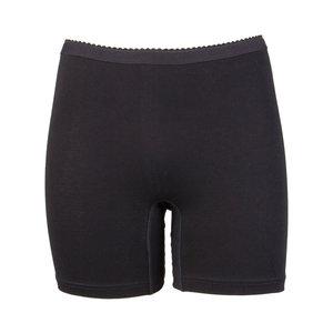 Dames boxershort Softly met lange pijp Zwart