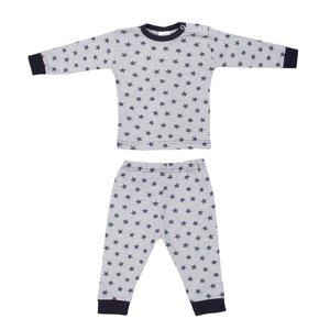 Baby Pyjama streep/ster Blauw