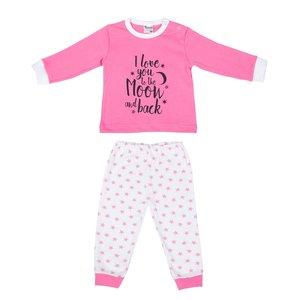 Beeren Baby pyjama Love You Roze