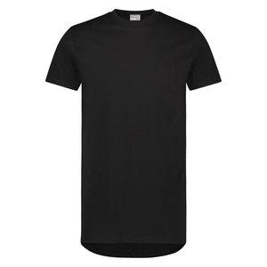 Heren American T-shirt Classic korte mouw Zwart