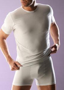 RJ bodywear Heren T-shirt wit