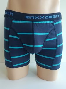 Heren boxershort Maxx Owen streep Blauw